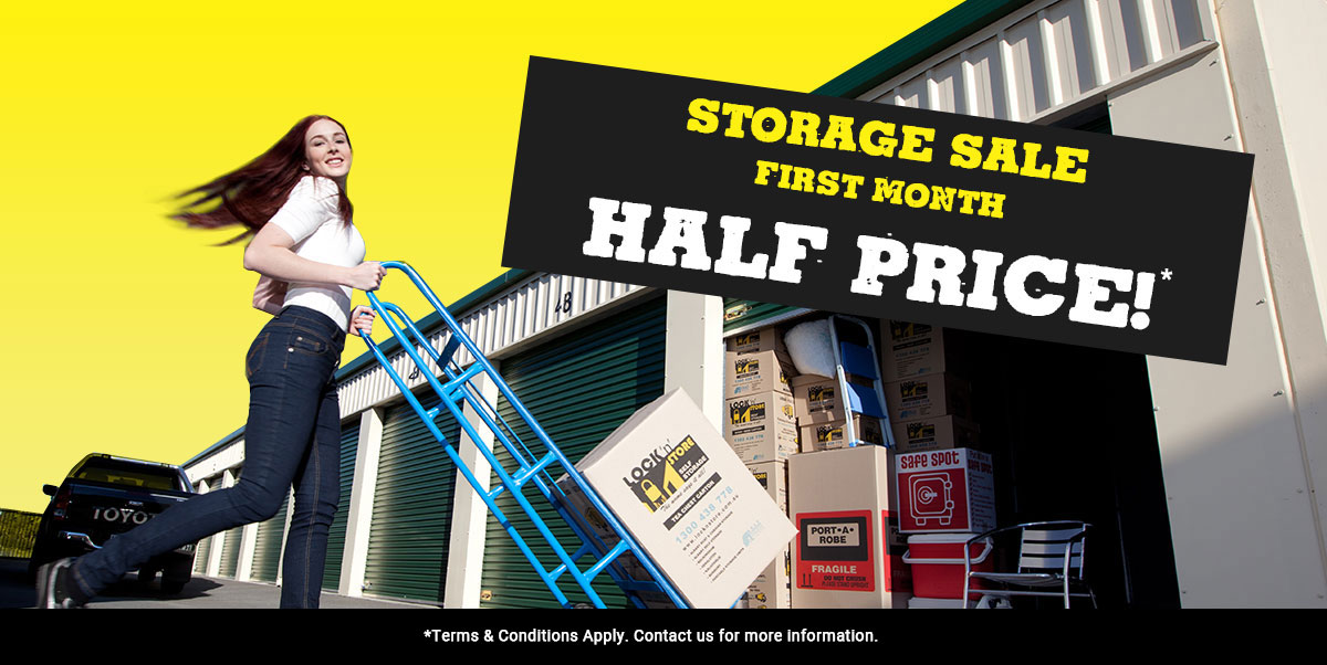 self storage sale